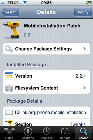 mobileintallationpatch