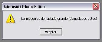 Microsoft Photo Editor Demasiados Bytes_small