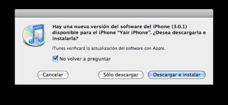 iphone 3.0.1