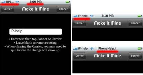 MakeItMine iphone