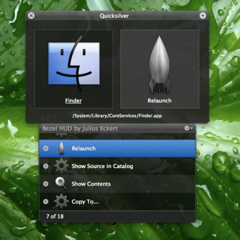 Reabriendo el Finder desde QuickSilver