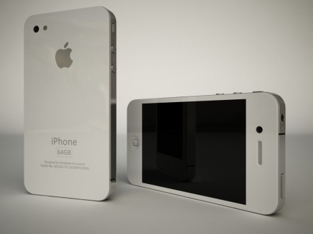 iPhone blanco